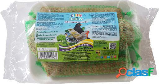 Cliffi nature wild mix snack para pajaros 480 gr