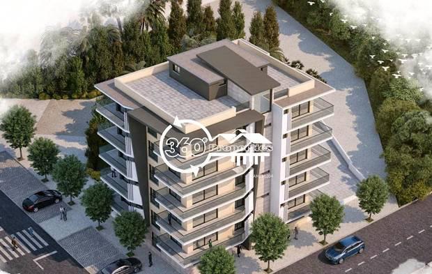 Apartamento t1 novo com garagem e terraço - faro