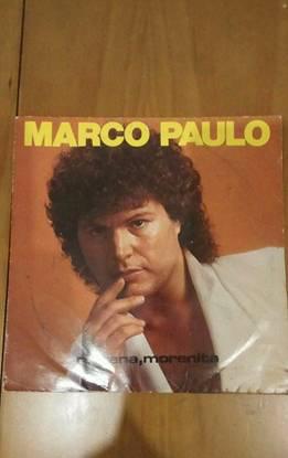"Disco vinil marco paulo ""morena morenita"""