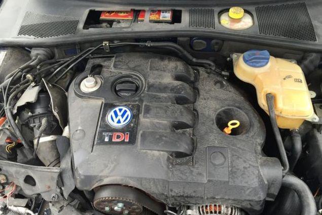 Motor volkswagen passat b5 3b 1.9tdi 130cv avf awx caixa de
