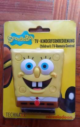 Controlo remoto/comando tv universal sponge bob no