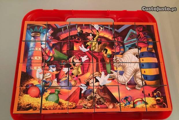 Puzzles de 24 cubos da disney + winnie the pooh