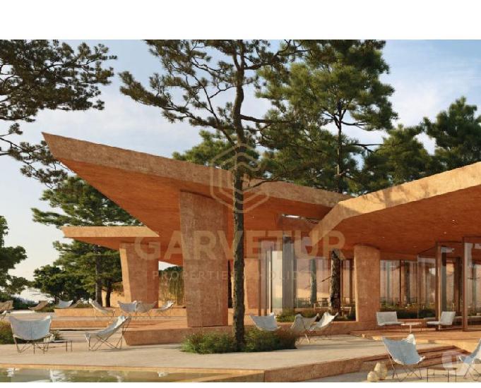 Algarve, odiaxere, apartamento duplex t1+1 inserido no campo