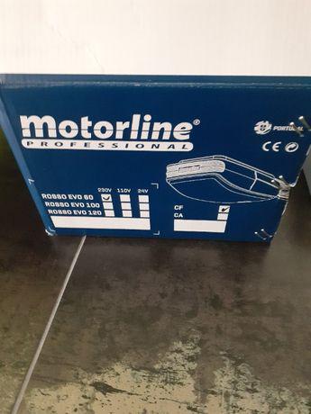 Vendo automatismo, motor de portão motorline novo na caixa