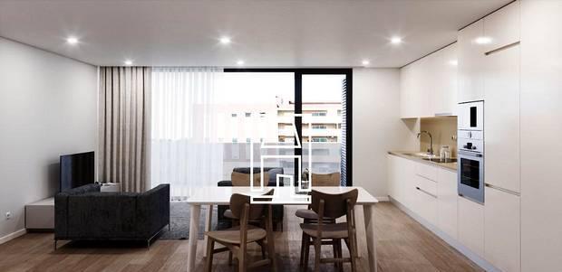 Apartamento t1, gualtar, braga