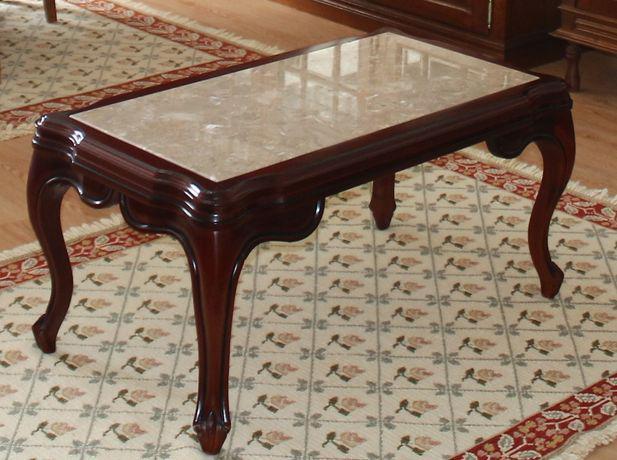Mesa de centro com pedra mármore para sala de jantar ou