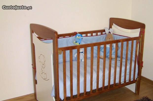 Cama para bebé/ criança - oferta do colchão