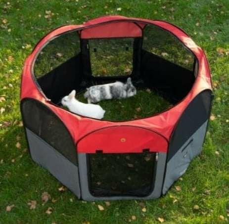 Parque de nylon para animais de estimação