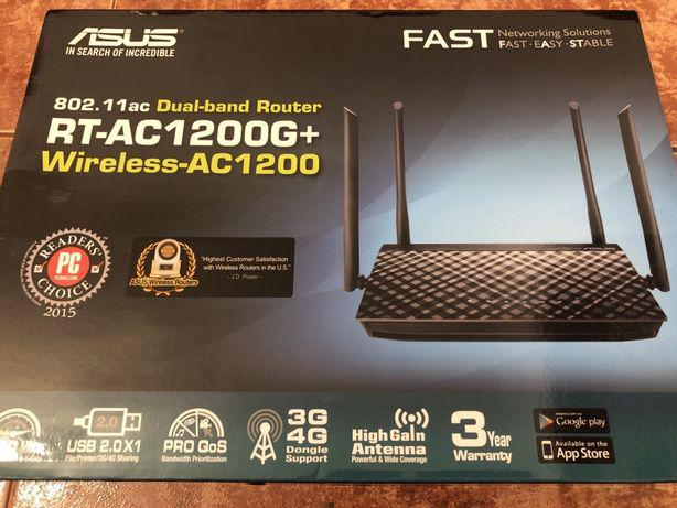 Router asus dual-band rt-ac1200g+