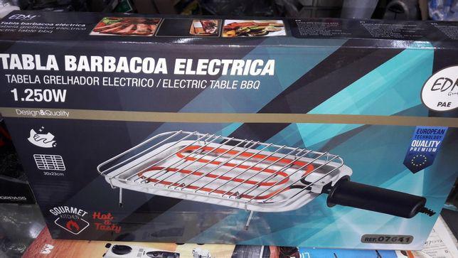 Grelhador elétrico novo com fatura e garantia