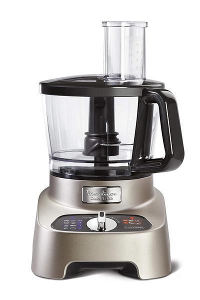 Robot de cozinha moulinex fp824h10 double force