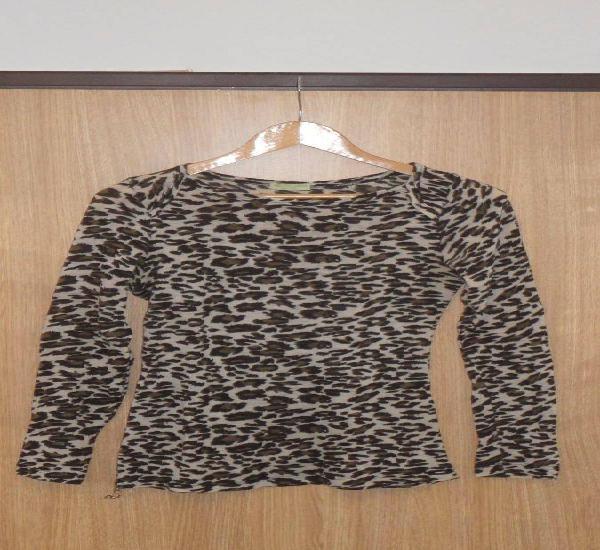 Camisola de senhora leopardo missazzurra