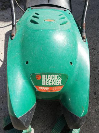 Máquina cortar relva black decker