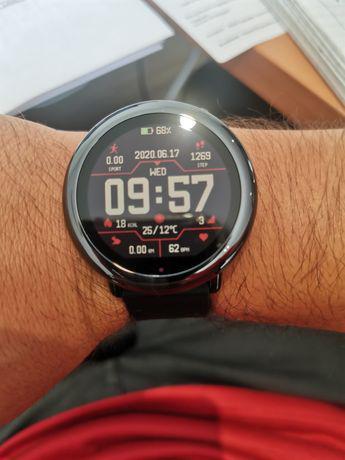 Relógio smartwatch xiaomi amazfit pace novo garantia