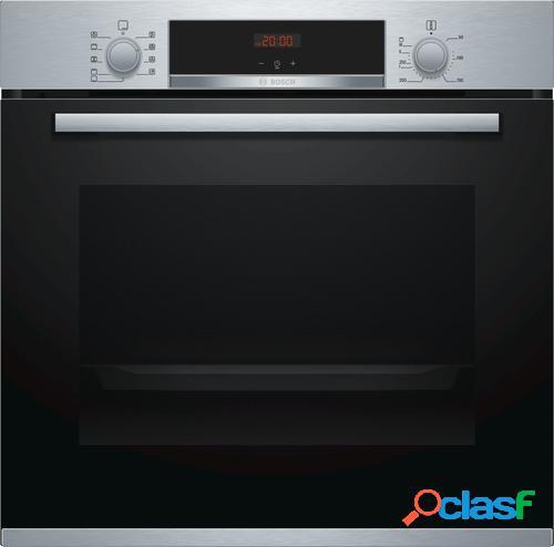 Bosch serie 4 hba512br0 forno forno elétrico 71 l preto, inox a