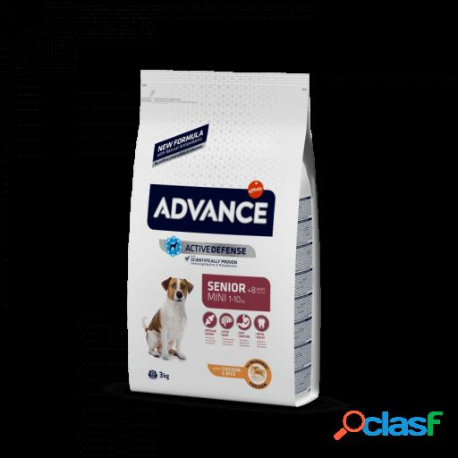 Advance Mini Senior Pollo y Arroz 1.5 Kg
