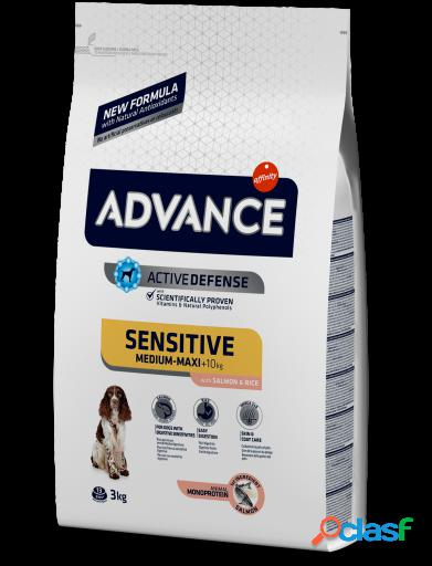 Advance Sensitive Salmão e Arroz 3 Kg