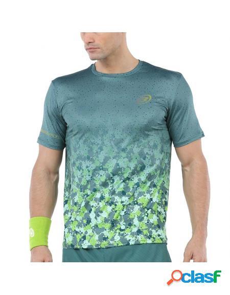 Camisa verde bullpadel urano 2020 - roupa padel bullpadel