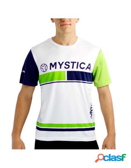 Camiseta mystica monto green 2020 - roupa de padel mystica