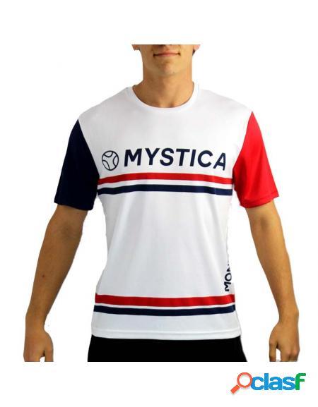Camiseta mystica monto red 2020 - roupa de padel mystica