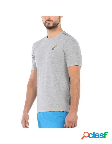 Camiseta cinza Bullpadel Urrea 2020 - Roupa padel Bullpadel