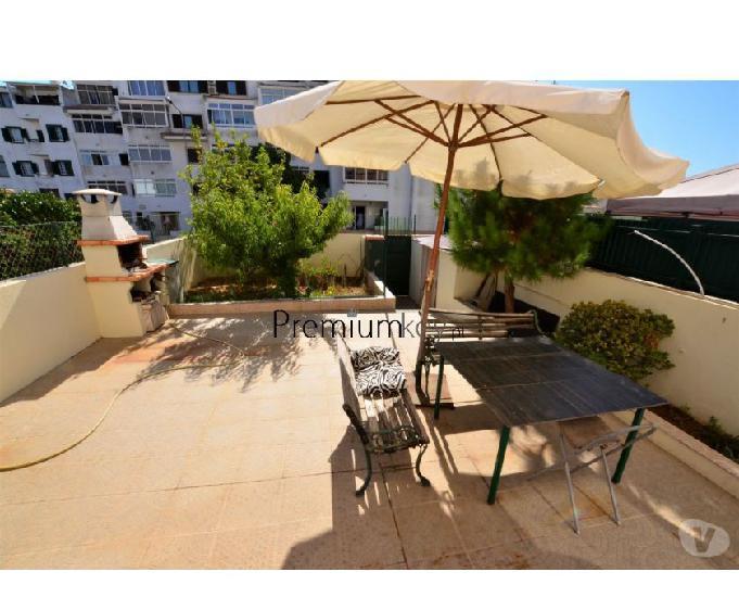 Apartamento duplex t2 com terraço e jardim para venda em...