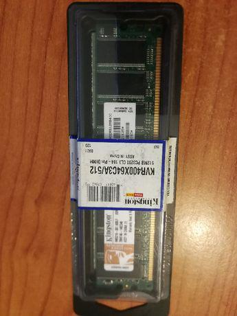 2 x kingston kvr400x64c3a/512 512 mb, 1gb total, pc3200