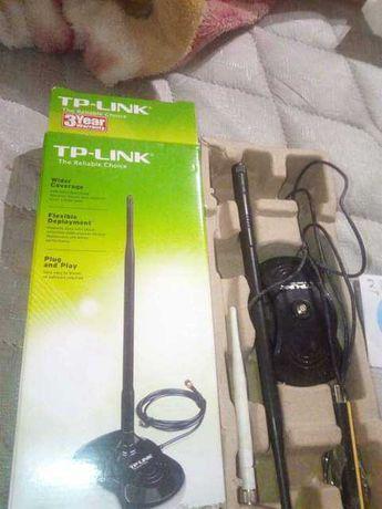 Antena wireless,amplificador de sinal + comando pc