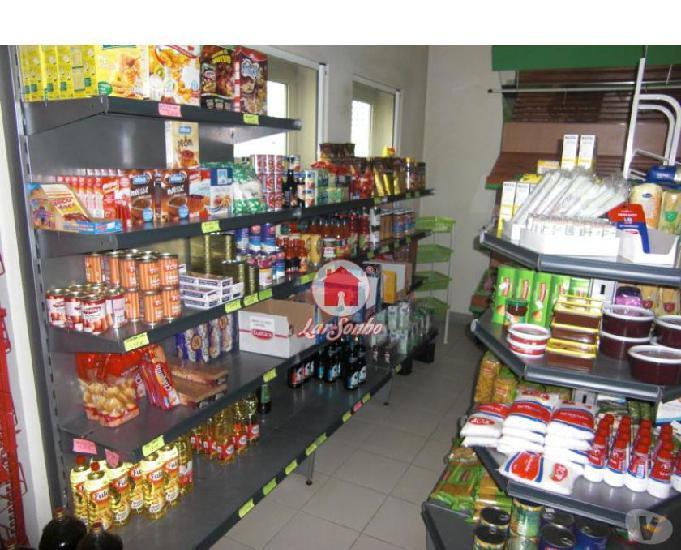 Loja para venda c negocio de mini-mercado - vila do conde