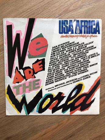 Singlewe are the world usa africa disco vinil