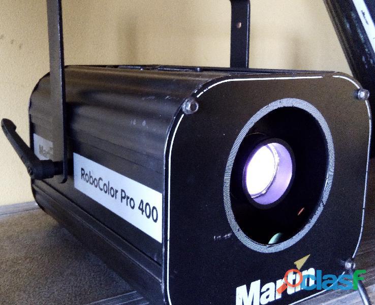 Projetor de luz Martin Robocolor PRO 400 (lote de 3)
