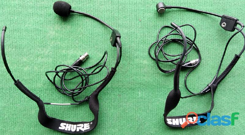Shure sistemas sem fio 4+4+4 microfones 7