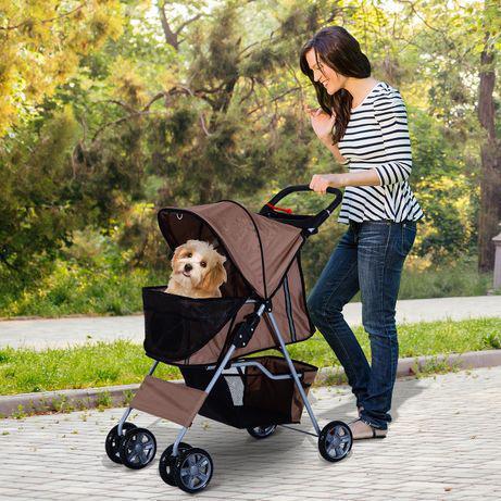 Carrinho de passeio para animais de estimação