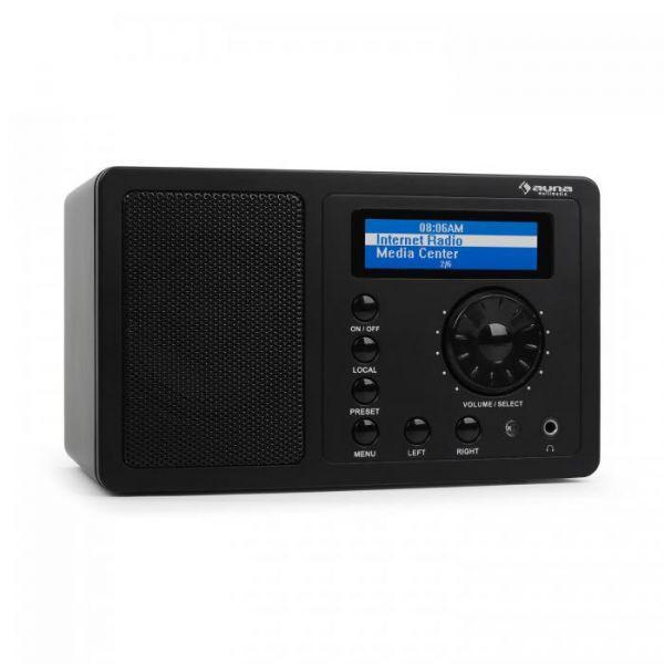 Rádio portátil ir-130 c/ wifi (preto) - denver
