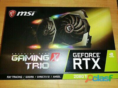 Vende se MSI Rtx 2080Ti 11GB X Trio