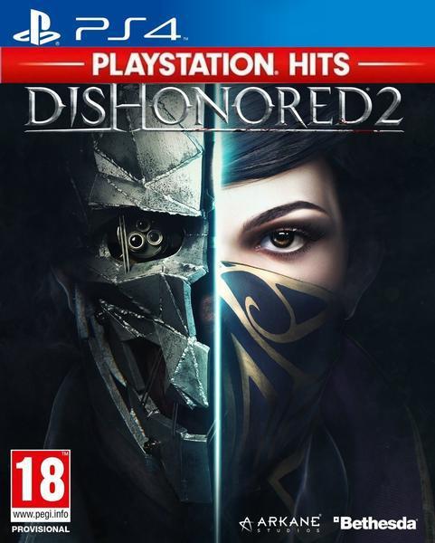 Jogo ps4 hits dishonored 2