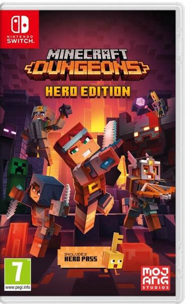 Jogo switch minecraft dungeons hero edition