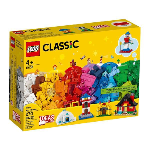 Lego classic – peças e casas 11008