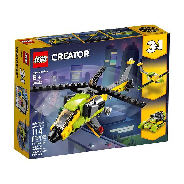 Lego creator – aventura de helicóptero 31092