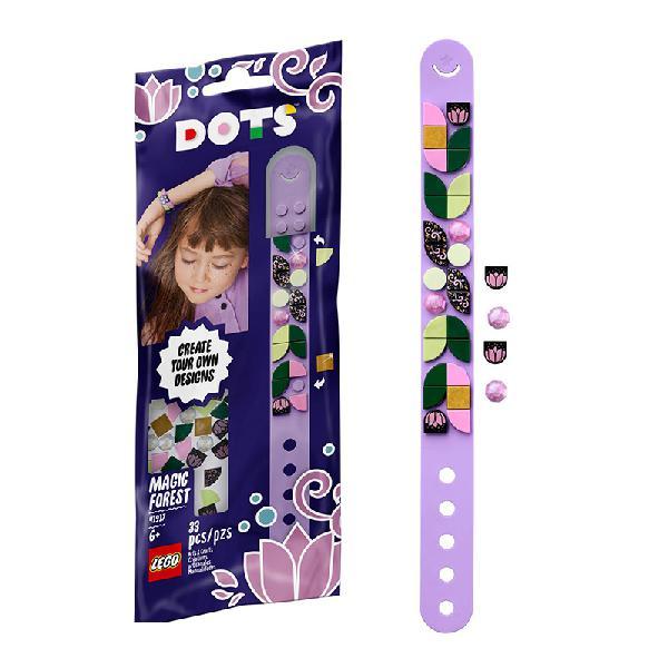 Lego dots – pulseira floresta mágica 41917