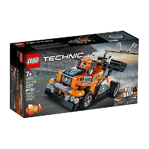 Lego technic – camião de corrida 42104