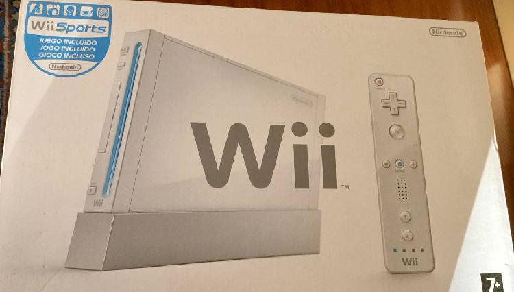 Nintendo wii + 3 jogos + comandos e proteção
