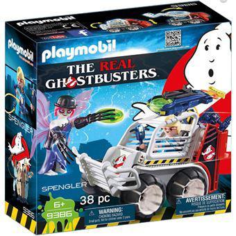 Playmobil ghostbusters 9386 veículo esfera
