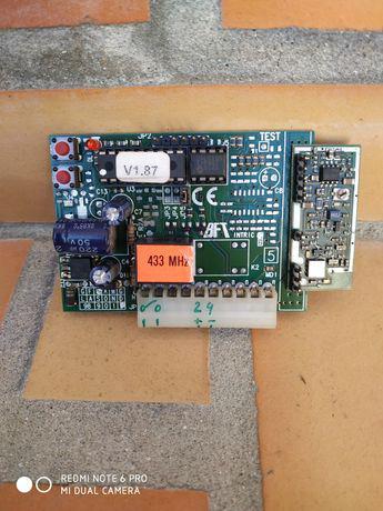 Receptor para placas da marca bft