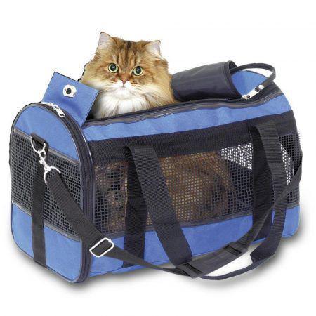 Bolsa de transporte para cães e gatos divina