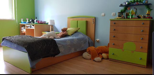 Conjunto de mobília quarto de criança