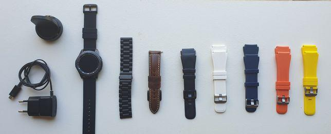 Relógio smartwatch samsung gear s3 frontier com 8