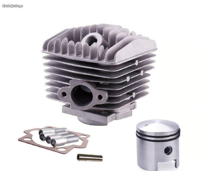 Kit cilindro 80cc (novo desenho) - pistão tipo a