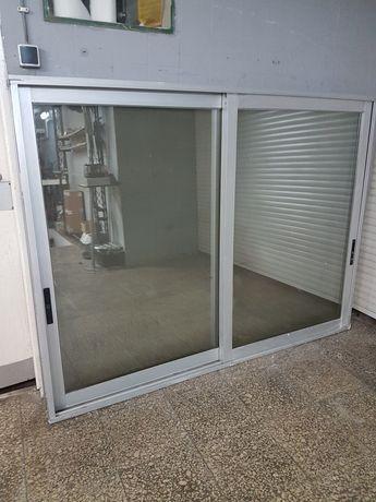 Portas e janela de alumínio vidro duplo