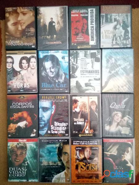 DVDs Varios Estilos, Ação, Western, Romance, Drama, Terror, etc